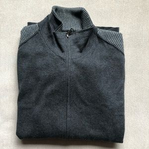 Banana Republic zipup sweater
